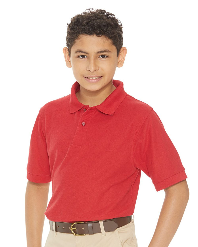 Youth Silky Smooth Pique Sport Shirt-FeatherLite-Pacific Brandwear