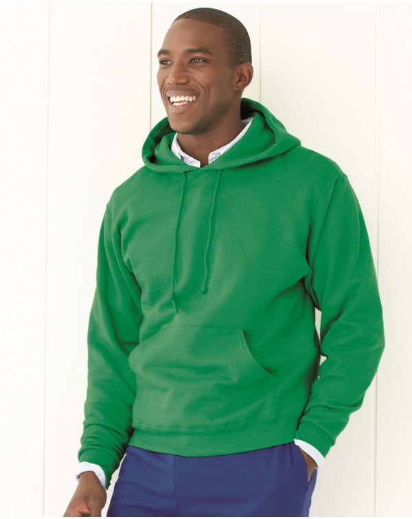 NuBlend Tall Hooded Sweatshirt-JERZEES-Pacific Brandwear
