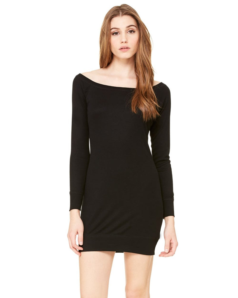 Women's Lightweight Sweater Dress-BELLA + CANVAS-Pacific Brandwear