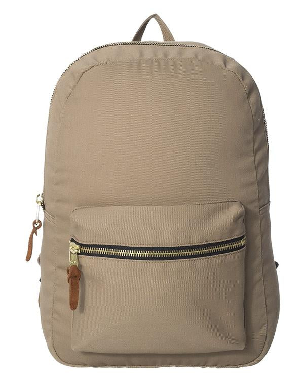 Hardware Heritage Canvas Backpack-Pacific Brandwear-Pacific Brandwear