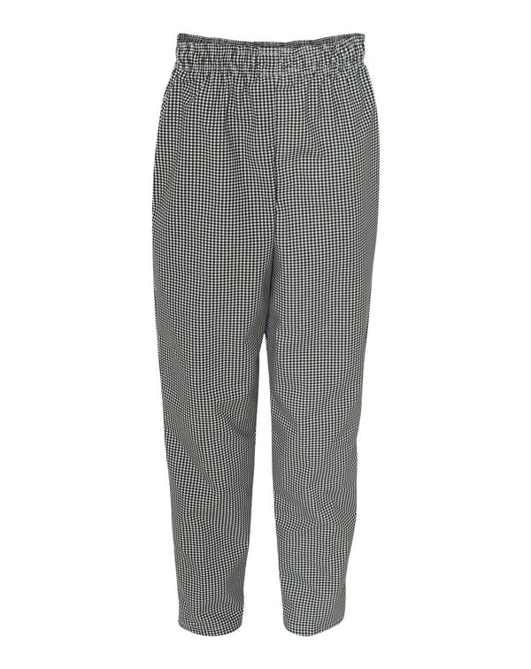 Spun Poly Baggy Chef Pants-Chef Designs-Pacific Brandwear