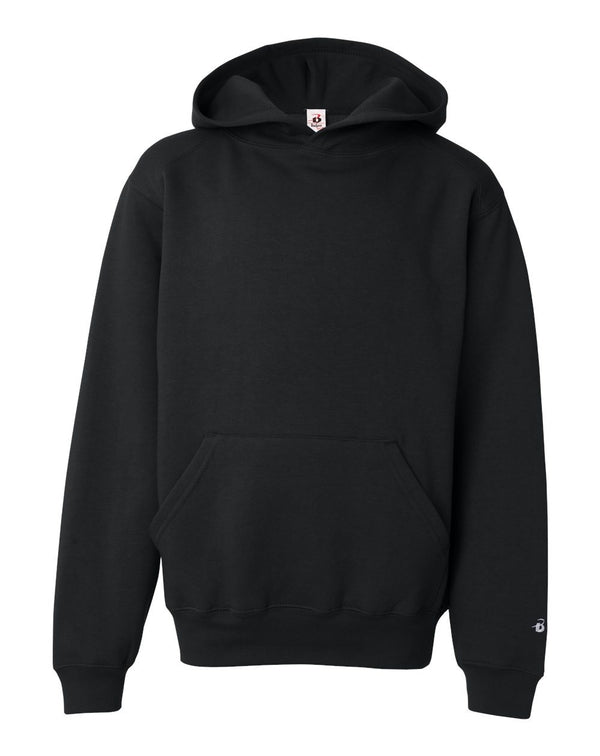 Youth Hooded Sweatshirt-Badger-Pacific Brandwear