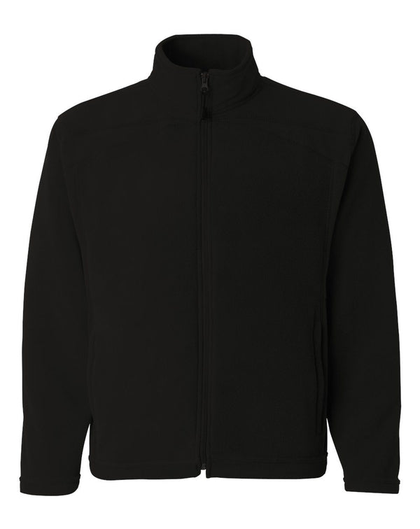 Leadville Microfleece Full-Zip Jacket-Colorado Clothing-Pacific Brandwear