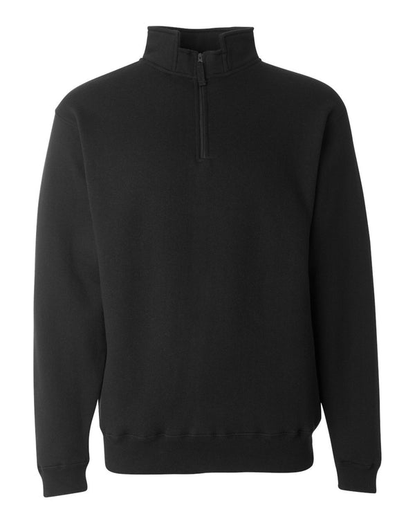 Heavyweight Fleece Quarter-Zip Sweatshirt-J. America-Pacific Brandwear