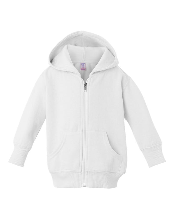 Infant Zip Fleece Hoodie-Rabbit Skins-Pacific Brandwear
