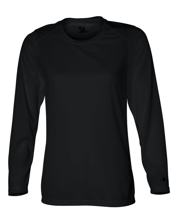 Women's B-Core Long sleeve T-Shirt-Badger-Pacific Brandwear