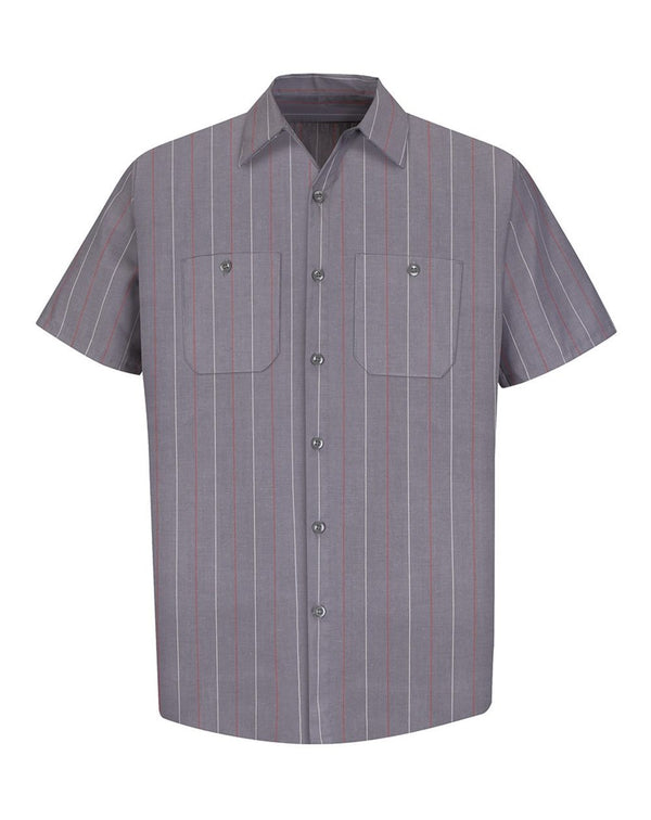 Red Kap Industrial Short Sleeve Work Shirt-Red Kap-Pacific Brandwear