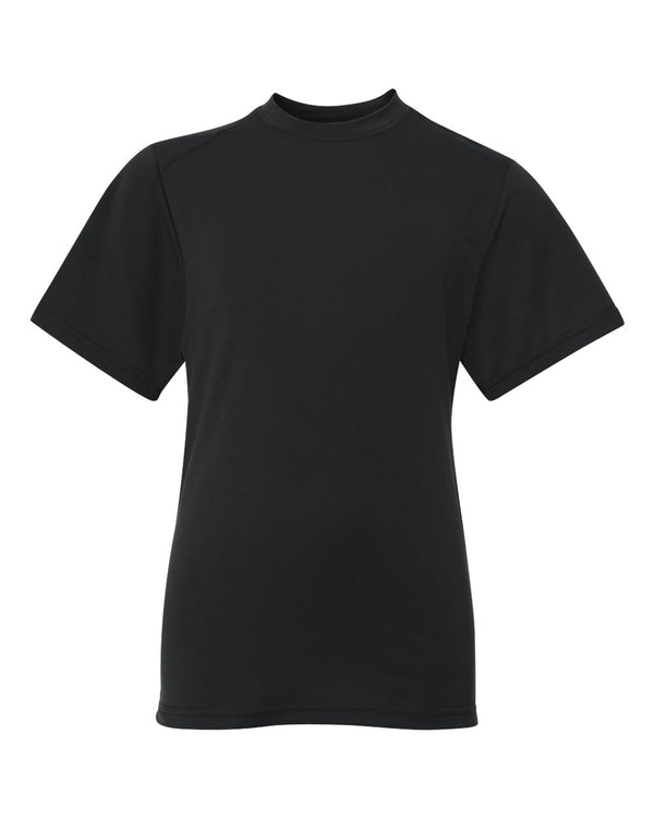 Youth B-Tech Cotton-Feel T-Shirt-Badger-Pacific Brandwear