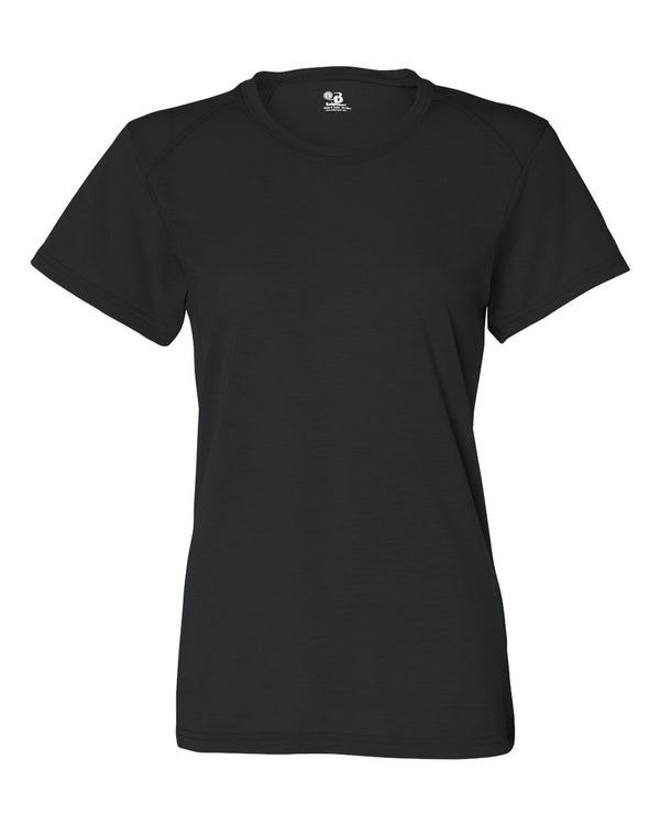 Women's B-Tech Cotton-Feel T-Shirt-Badger-Pacific Brandwear