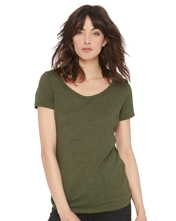 Women's Triblend Short sleeve Scoop-Next Level-Pacific Brandwear