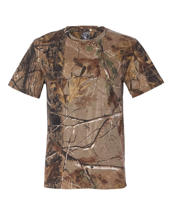 Adult Realtree Camo Tee-Code Five-Pacific Brandwear
