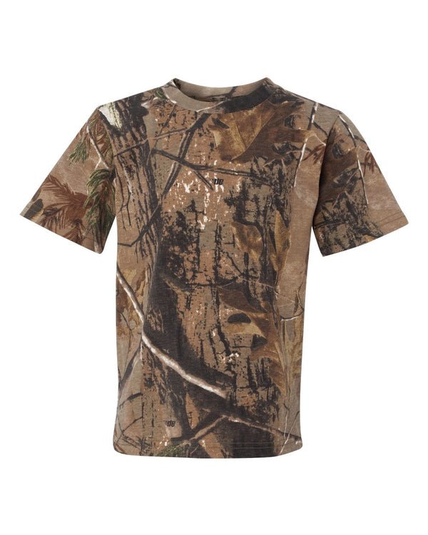 Youth Realtree Camo Tee-Code Five-Pacific Brandwear