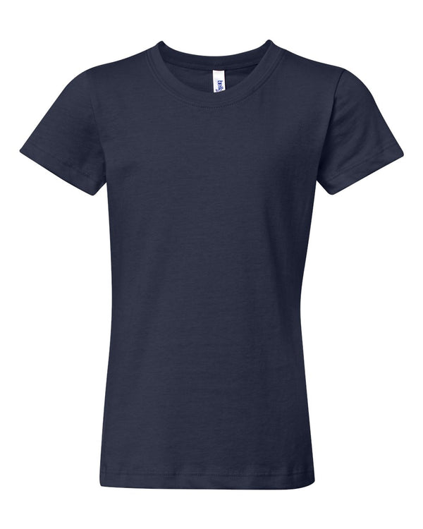 Girls' Jersey Tee-BELLA + CANVAS-Pacific Brandwear