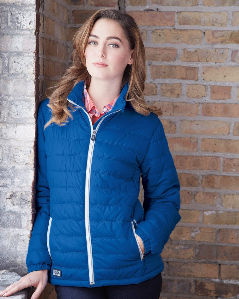 Women's Belay Puffer Jacket-DRI DUCK-Pacific Brandwear