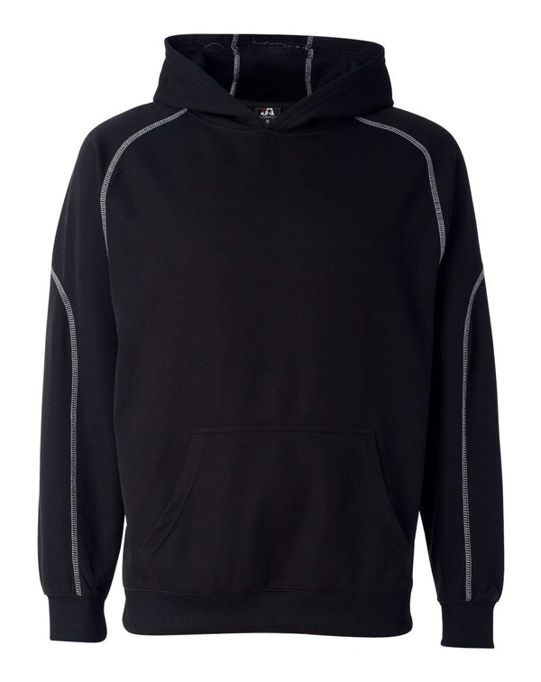 Poly Mesh Hooded Pullover-J. America-Pacific Brandwear