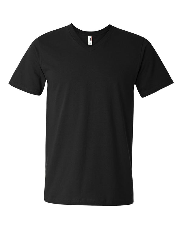 Lightweight V-Neck T-Shirt-Anvil-Pacific Brandwear