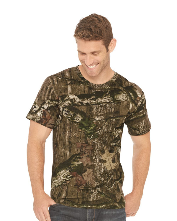 Adult Mossy Oak Camo Tee-Code Five-Pacific Brandwear