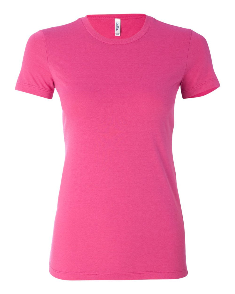 Women's Cotton/Polyester Tee-BELLA + CANVAS-Pacific Brandwear