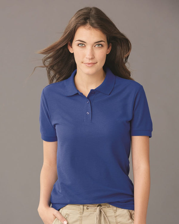 Women's Easy Care Pique Sport Shirt-JERZEES-Pacific Brandwear