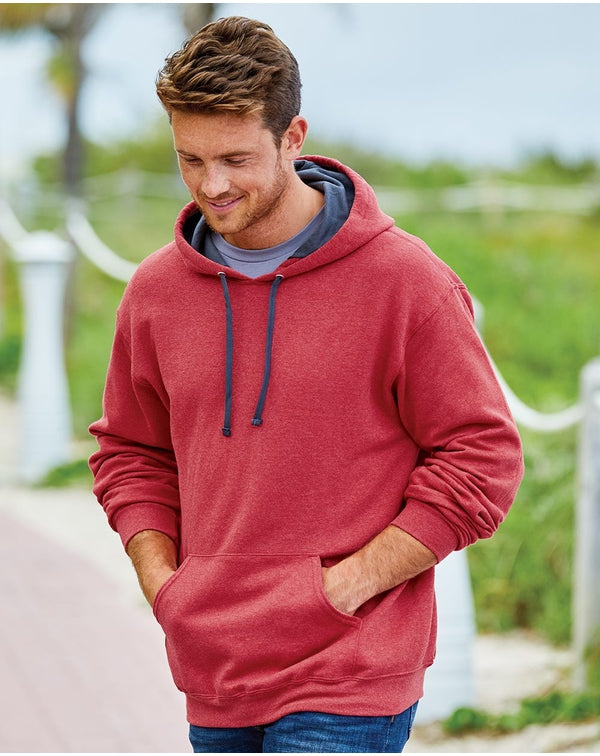 Sofspun Hooded Pullover SweatShirt-Fruit of the Loom-Pacific Brandwear