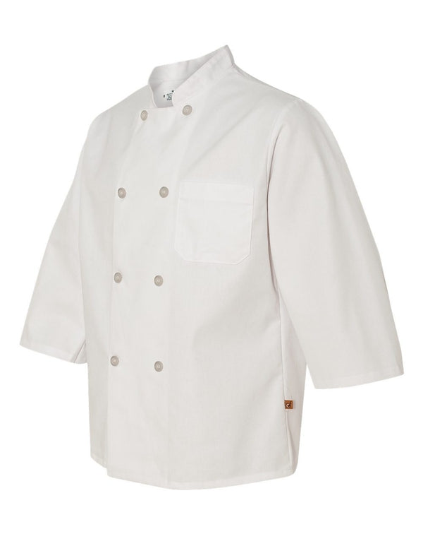 Chef Designs Three-Quarter Sleeve Chef Coat-Chef Designs-Pacific Brandwear
