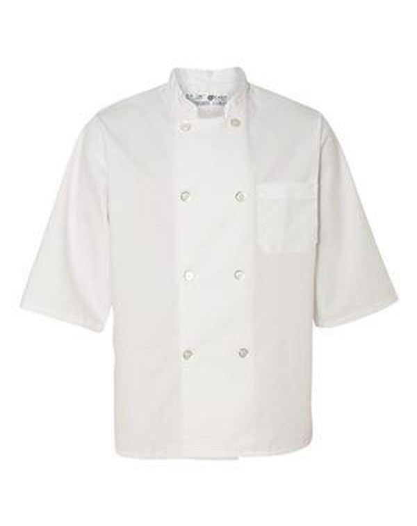 Half Sleeve Chef Coat-Chef Designs-Pacific Brandwear