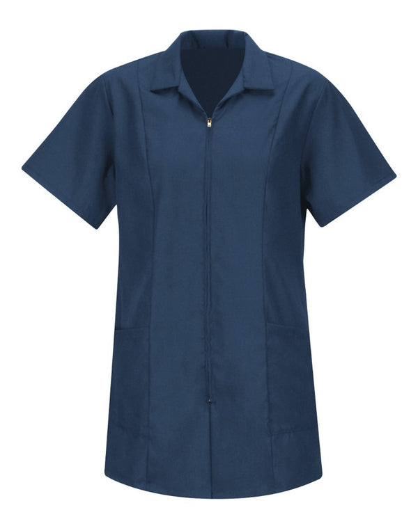 Red Kap Women's Zip Front Smock-Red Kap-Pacific Brandwear