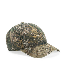 Camo Cap with American Flag Undervisor-Outdoor Cap-Pacific Brandwear