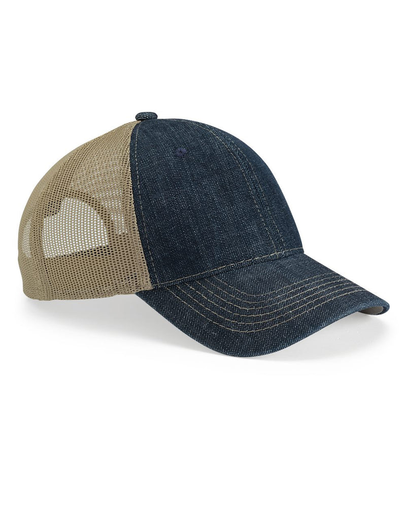 Denim Mesh Back Cap-Outdoor Cap-Pacific Brandwear