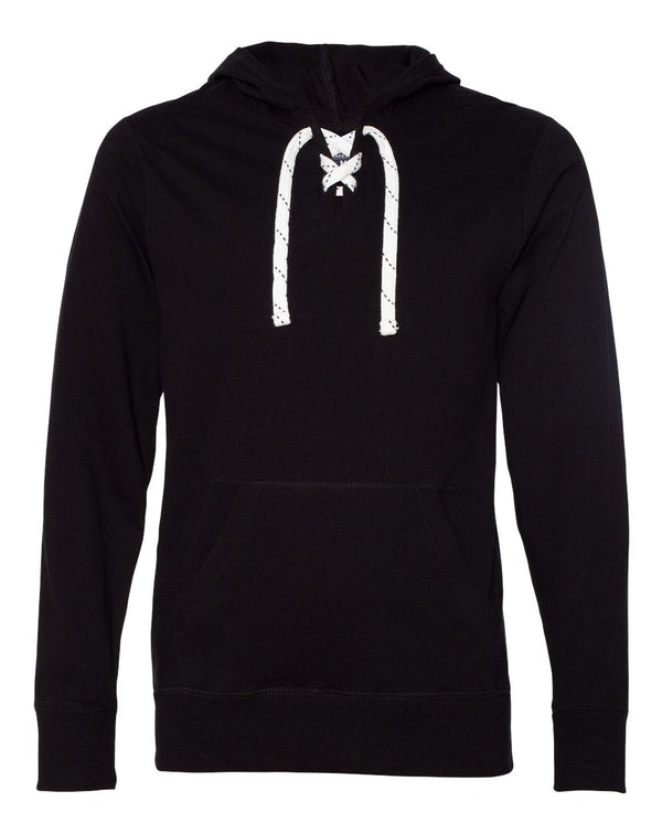 Jersey Sport Lace Hooded Pullover-J. America-Pacific Brandwear