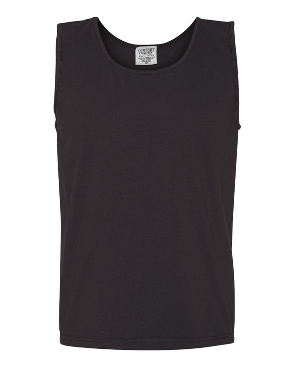 Garment-Dyed Heavyweight Tank Top-Comfort Colors-Pacific Brandwear