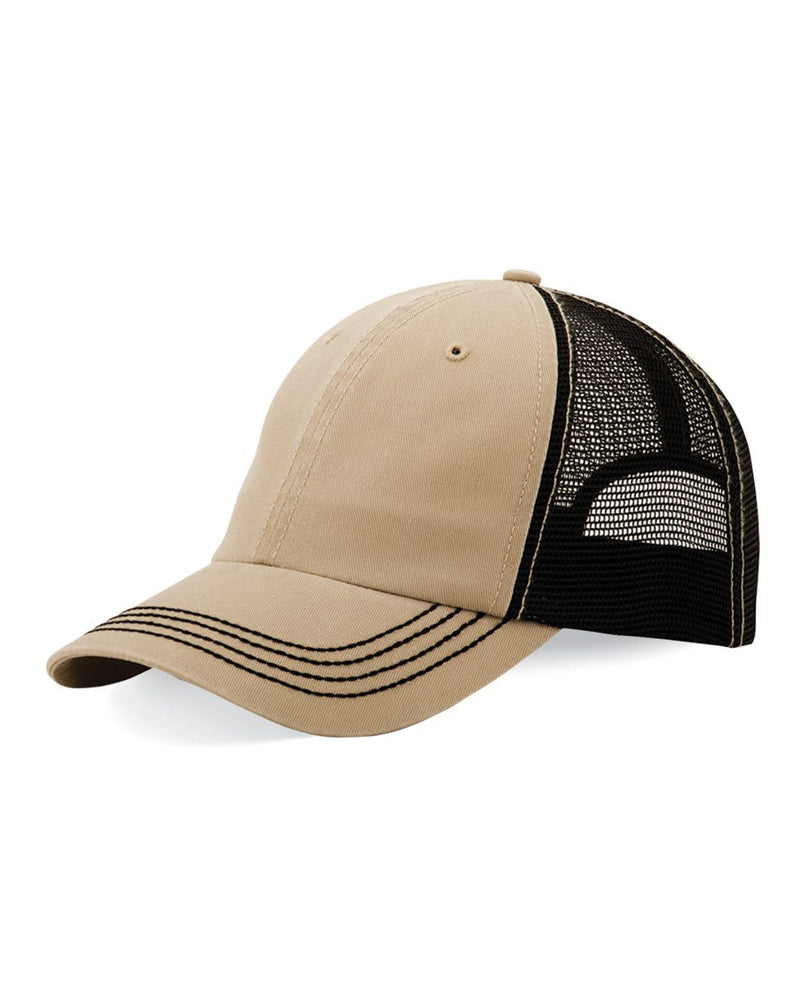 Washed Twill Trucker Cap-Mega Cap-Pacific Brandwear