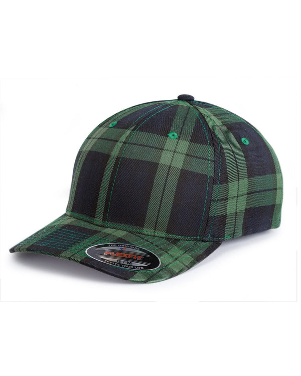 Tartan Plaid Cap-Flexfit-Pacific Brandwear