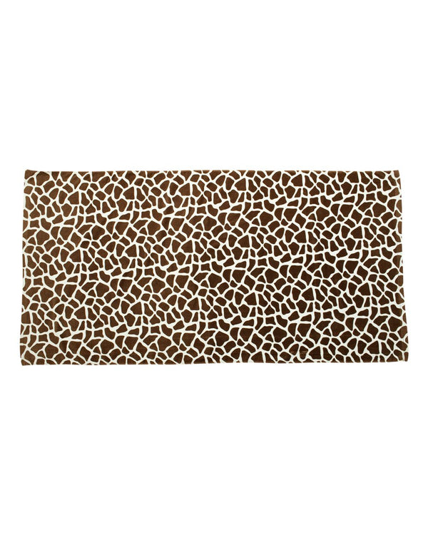 Animal Print Velour Beach Towel-Carmel Towel Company-Pacific Brandwear