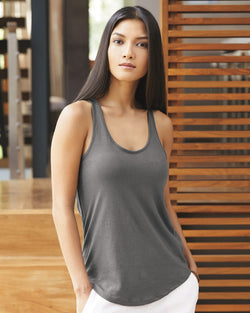 Women's Satin Jersey Shirttail Tank-Alternative Apparel-Pacific Brandwear