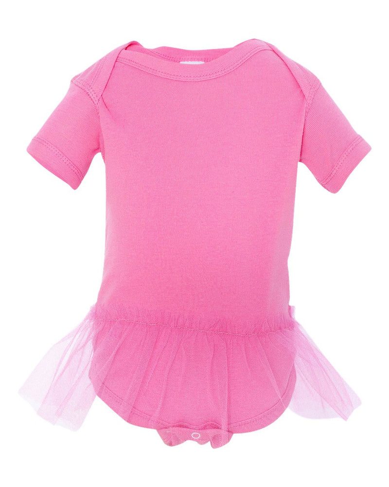 Infant Tutu Baby Rib Bodysuit-Rabbit Skins-Pacific Brandwear