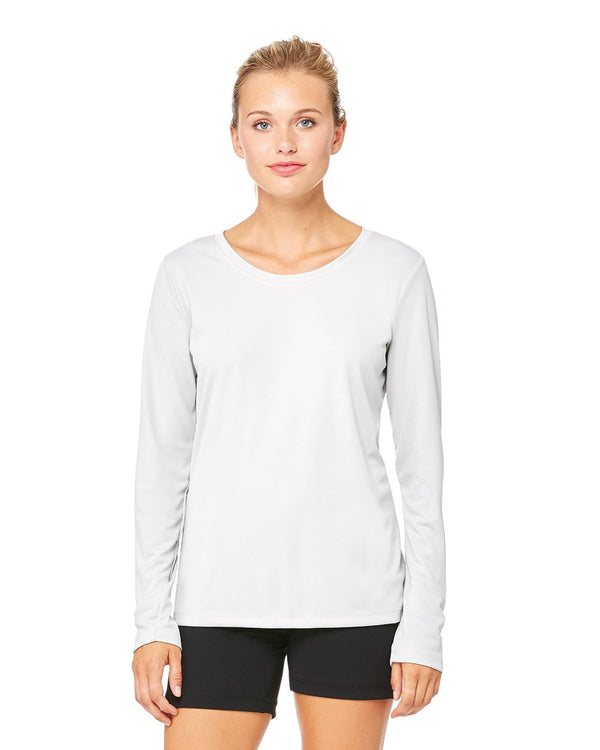 Women's Performance Long sleeve T-Shirt-All Sport-Pacific Brandwear