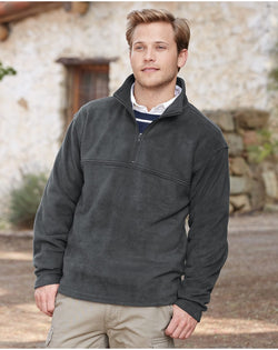 Classic Sport Fleece Quarter-Zip Pullover-Colorado Clothing-Pacific Brandwear