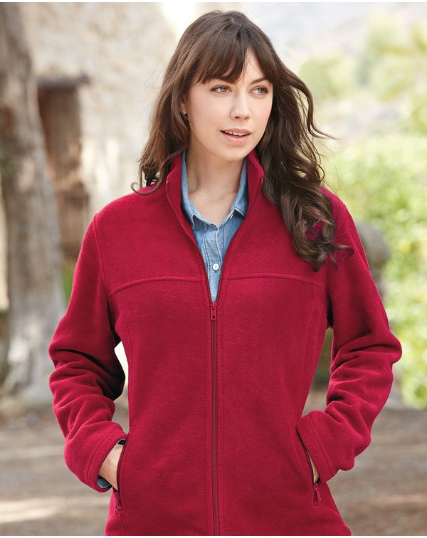 Women's Classic Sport Fleece Full-Zip Jacket-Colorado Clothing-Pacific Brandwear