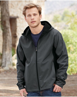 Antero Hooded Soft Shell Jacket-Colorado Clothing-Pacific Brandwear