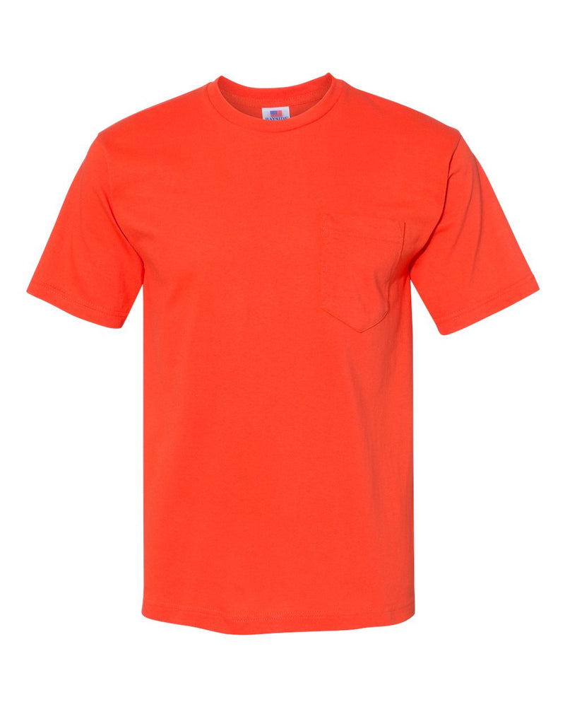 USA-Made Short sleeve T-Shirt With a Pocket-Bayside-Pacific Brandwear