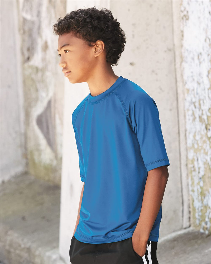Youth Rash Guard Shirt-Burnside-Pacific Brandwear