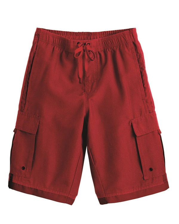 Youth Striped Swim Trunks-Burnside-Pacific Brandwear