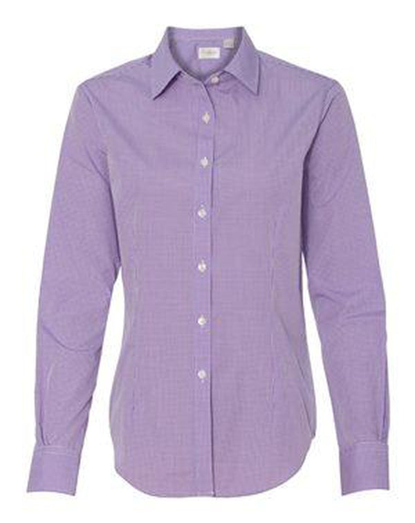 Women's Gingham Check Shirt-Van Heusen-Pacific Brandwear