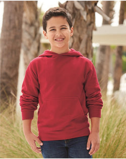 Youth Midweight Hooded SweatShirt-Independent Trading Co.-Pacific Brandwear
