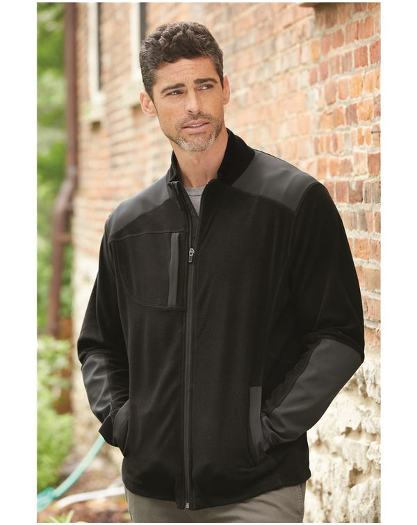 Explorer DDX Nanofleece Nylon Full-Zip Jacket-DRI DUCK-Pacific Brandwear