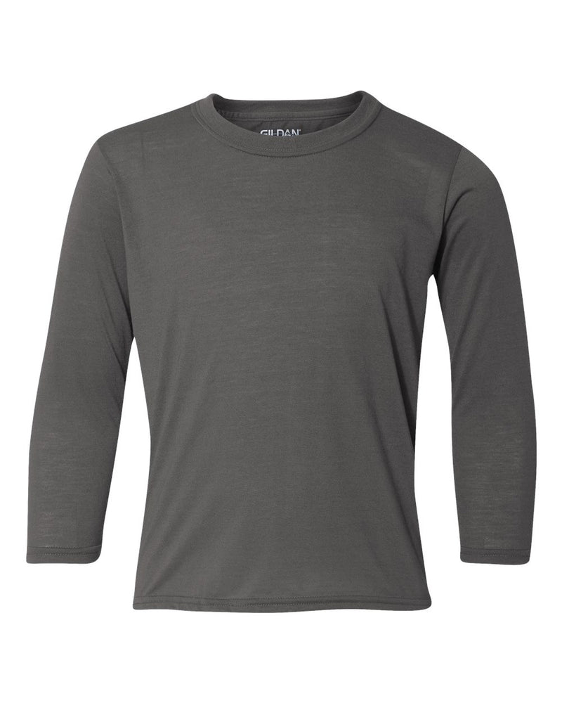 Performance Youth Long sleeve T-Shirt-Gildan-Pacific Brandwear