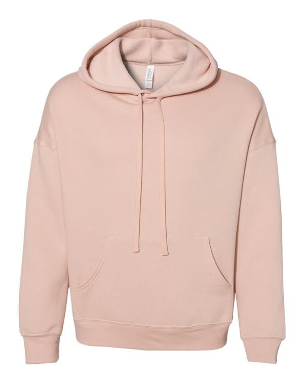 Bella Unisex Sponge Fleece Drop Shoulder Hoodie-BELLA CANVAS-Pacific Brandwear