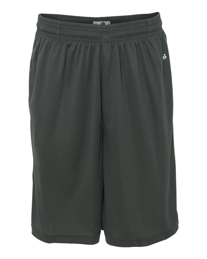 "B-Core 10"" Shorts with Pockets-Badger-Pacific Brandwear"