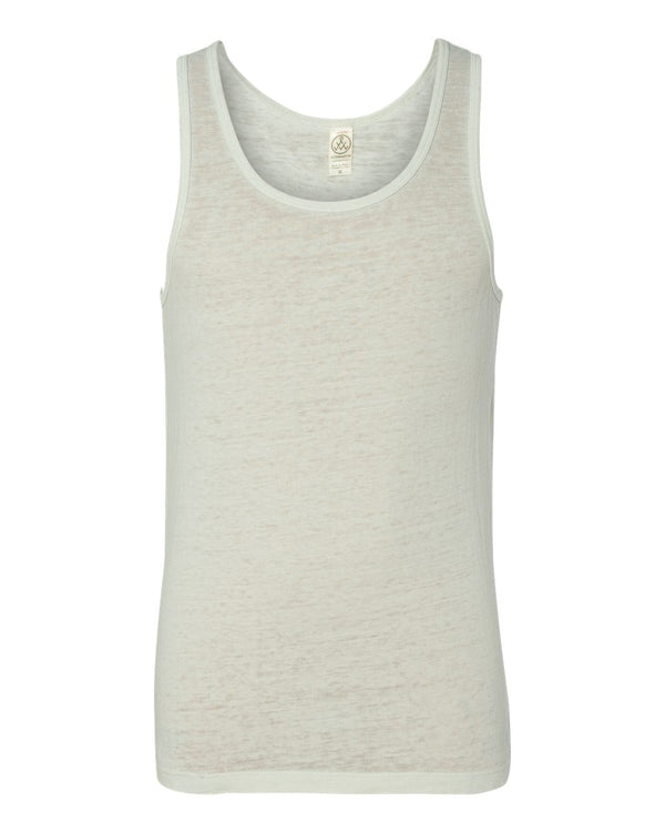 Vintage Burnout Shaggy Tank Top-Alternative Apparel-Pacific Brandwear
